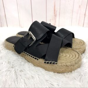 Marc Fisher Venita Espadrille Sandal Size 7